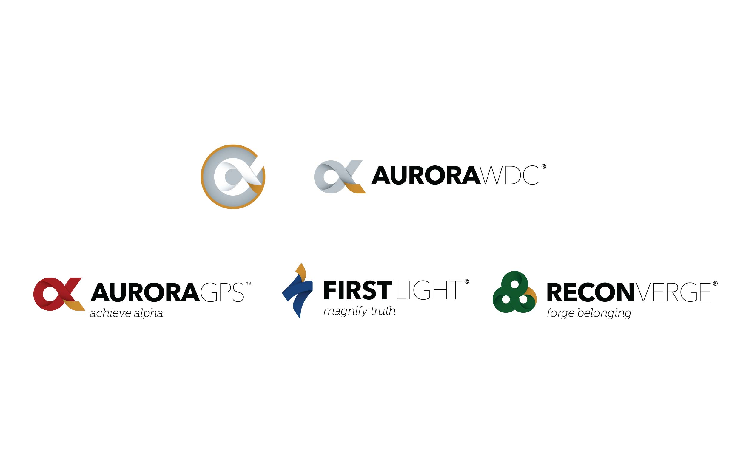 Aurora WDC Logo Set