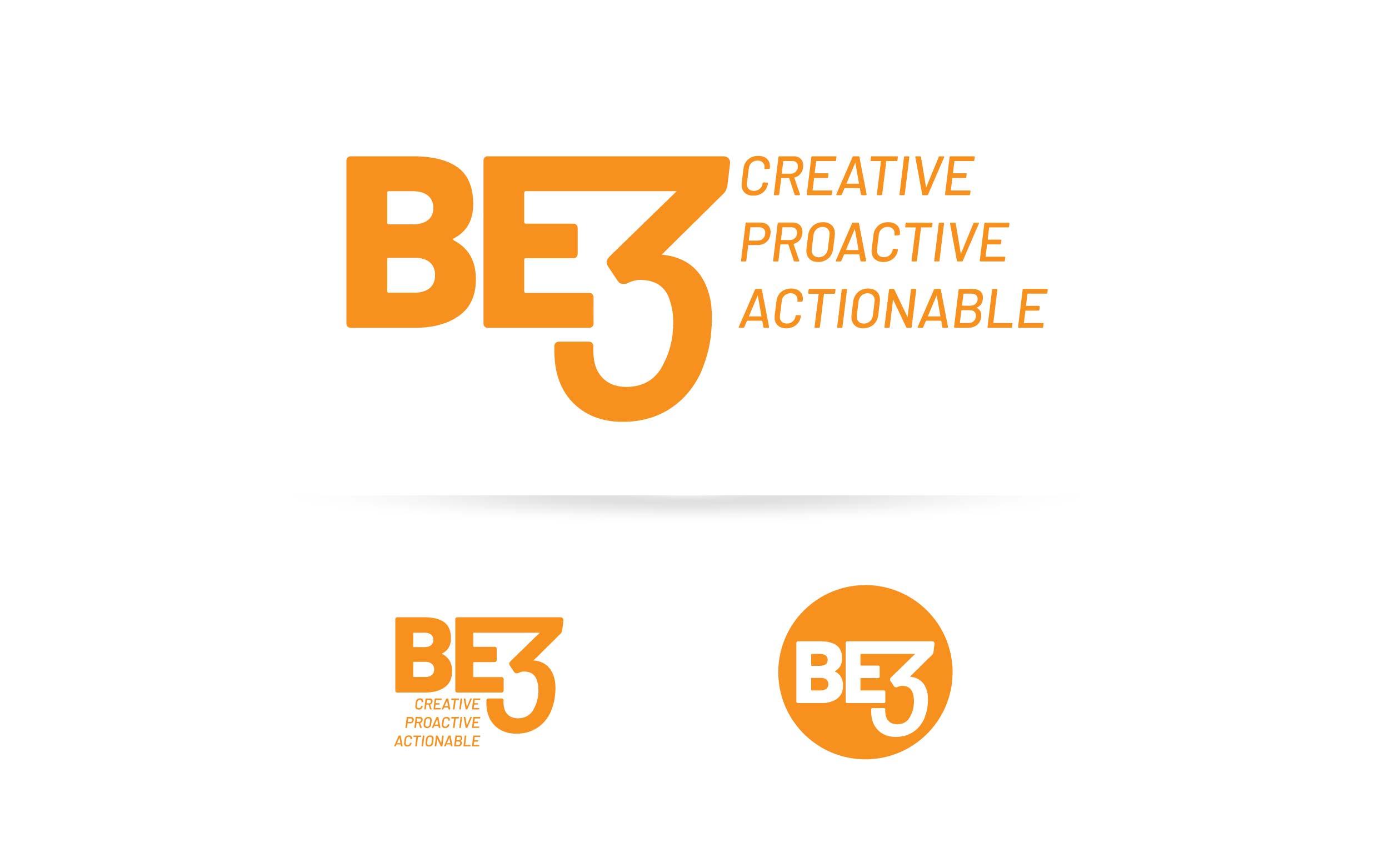 BE3 Logo Formats