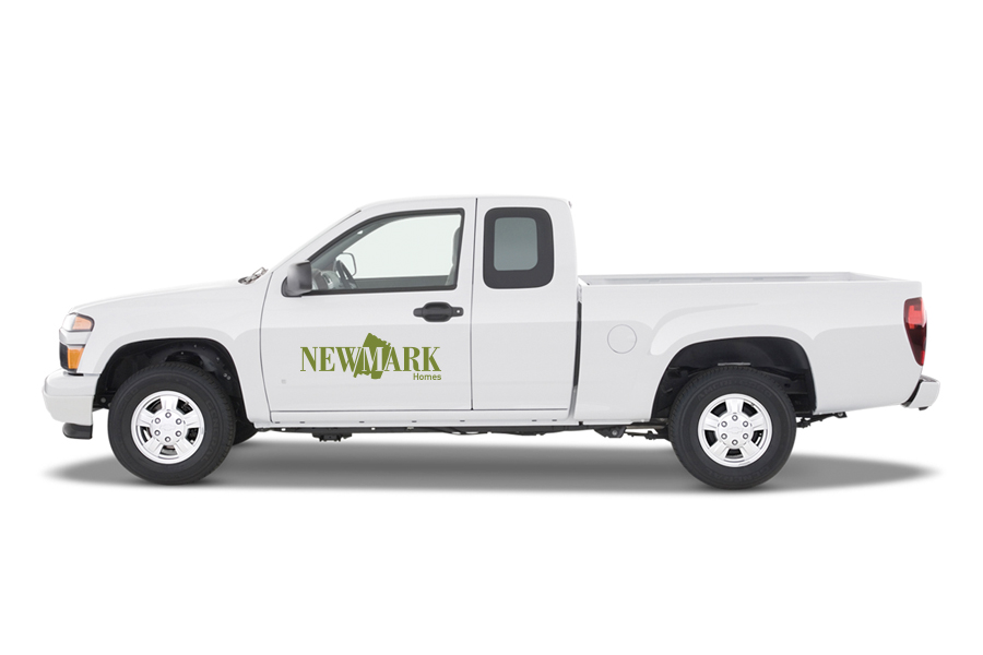 NewMark Truck Decal Application