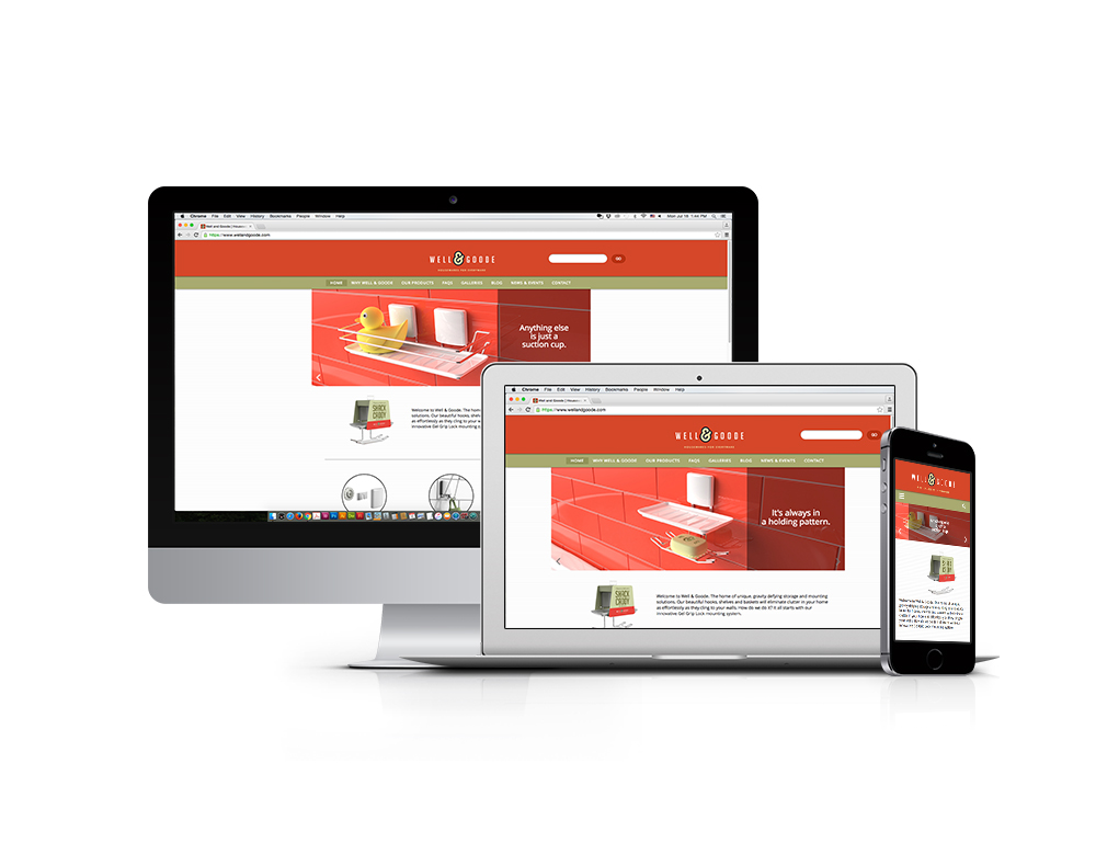 Well & Goode Website